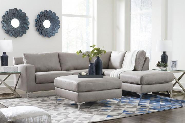 Ryler Steel Raf Sectional From Ashley Furniture Etc Com