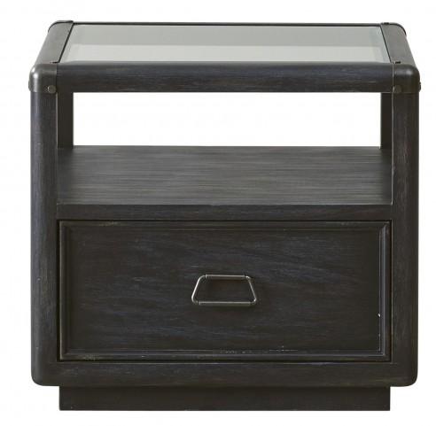 Vintage Tempo Unique Charcoal End Table