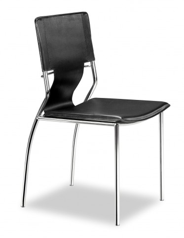Trafico Dining Chair Black Set of 4
