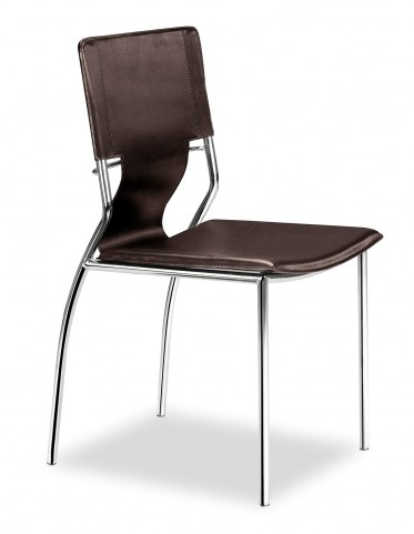 Trafico Dining Chair Espresso Set of 4
