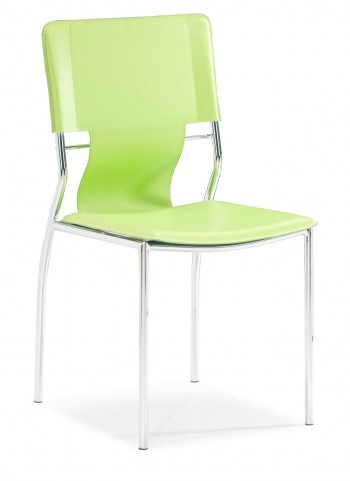 Trafico Dining Chair Green Set of 4