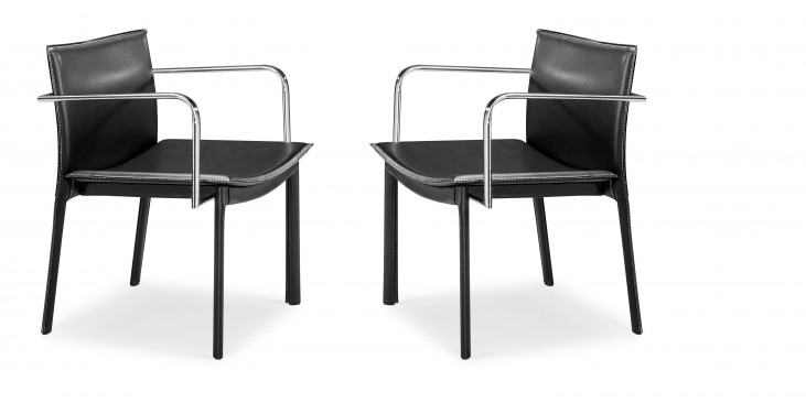 Gekko Conference Chair Black Set of 2