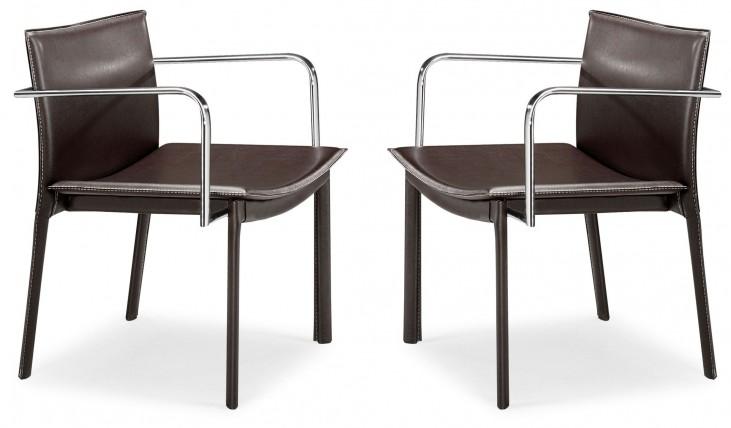 Gekko Conference Chair Espresso Set of 2