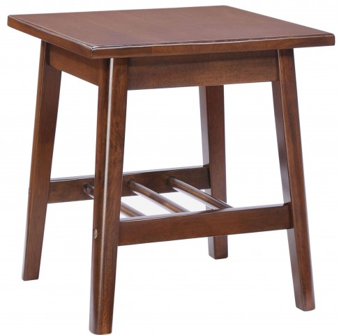 Aventura Walnut Side Table