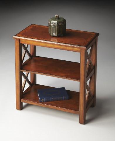 Masterpiece Olive Ash Burl Bookcase