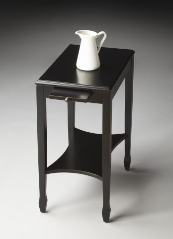 Gilbert Masterpiece Black Licorice Side Table