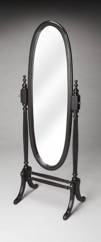 Caroline Masterpiece Black Licorice Cheval Mirror