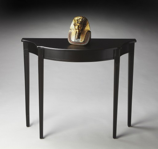 Chester Masterpiece Black Licorice Console Table