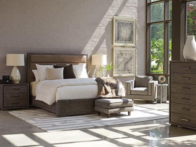 Santana Gramercy Upholstered Bedroom Set From Lexington Coleman Furniture