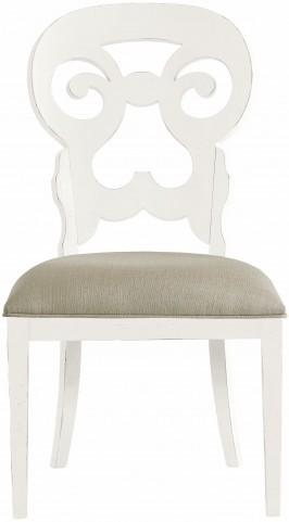 Coastal Living Saltbox White Wayfarer Side Chair