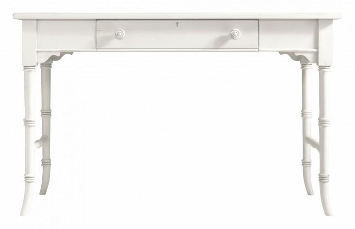 Coastal Living Saltbox White Table Desk