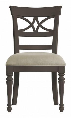 Coastal Living Gloucester Grey Sea Watch Side Chair