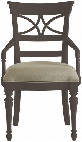 Coastal Living Gloucester Grey Sea Watch Arm Chair