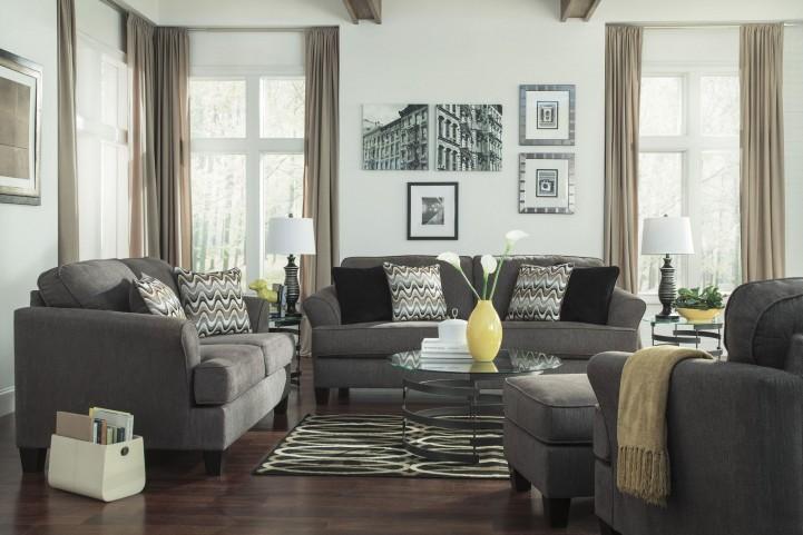 Gayler Steel Living Room Set