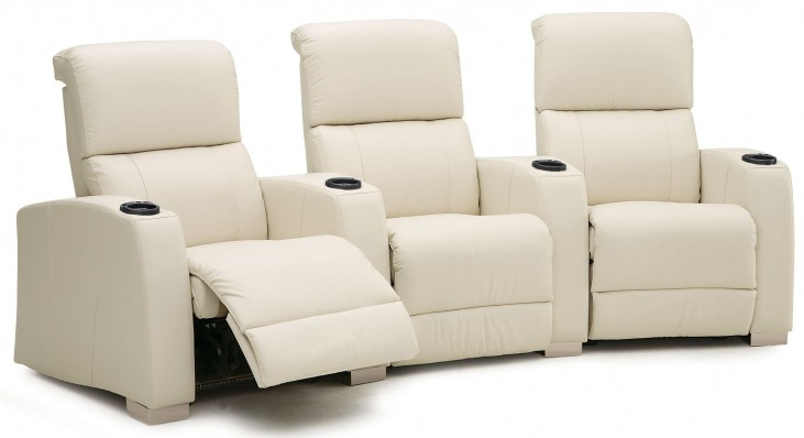 Hifi Vinyl Power Reclining Home Theatre Seating