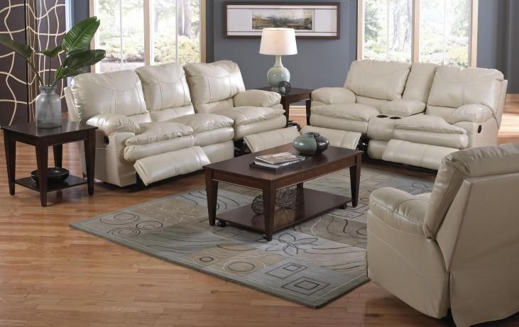 Perez Ice Reclining Living Room Set