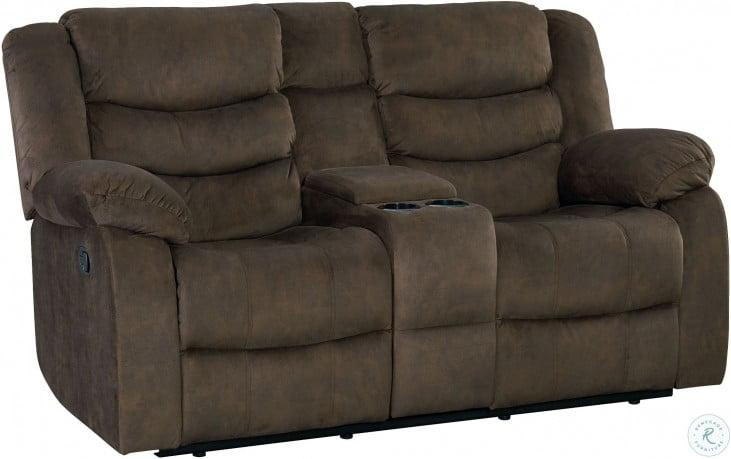Terrific Ridgecrest Dark Brown Reclining Loveseat Pdpeps Interior Chair Design Pdpepsorg
