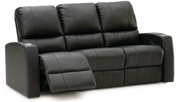 Pacifico Leather Power Reclining Home Theatre Seating