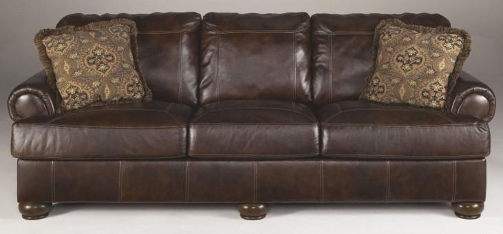 Axiom Walnut Sofa