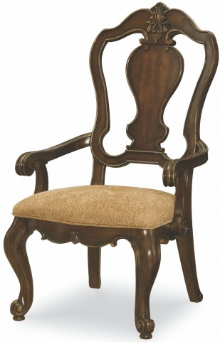 La Bella Vita Splat Back Arm Chair Set of 2