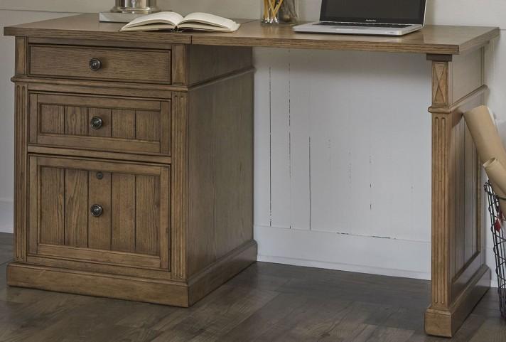 Cumberland Creek Rustic Oak Rectangular Desk