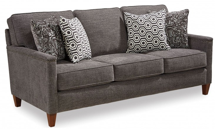 Lawson Gray Fabric Sofa