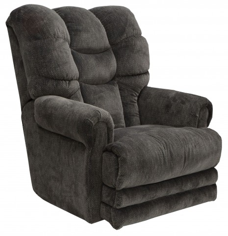 Malone Slate Lay Flat Power Recliner