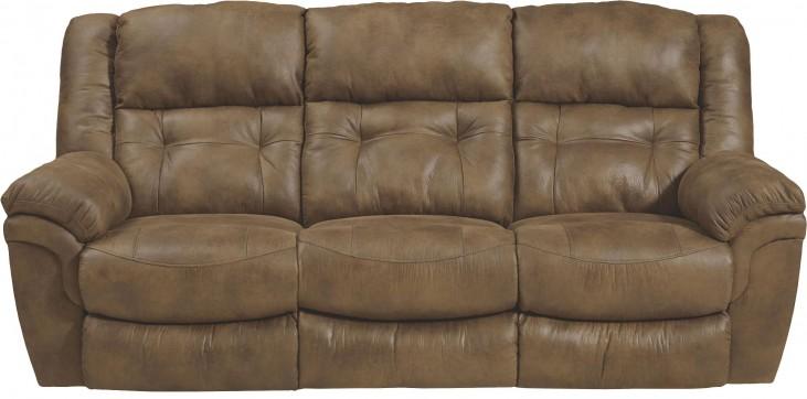 Joyner Almond Reclining Sofa