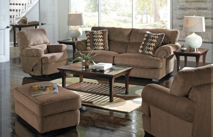 Hayden Bark and Smoke Living Room Set