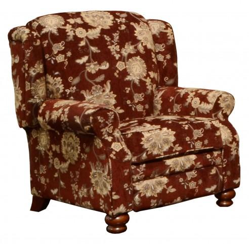 Belmont Merlot Reclining Chair