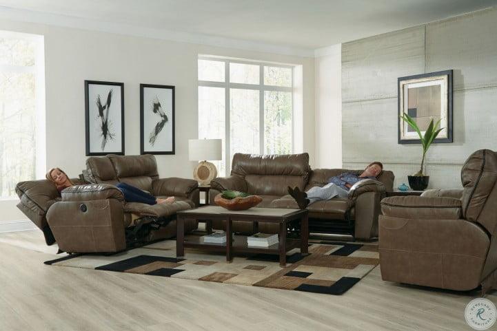 Terrific Milan Smoke Leather Power Reclining Sofa Beutiful Home Inspiration Papxelindsey Bellcom
