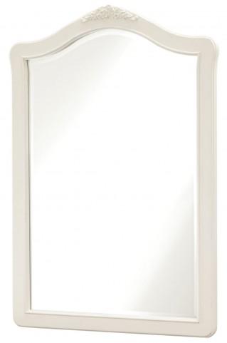 Genevieve French White Vertical Mirror