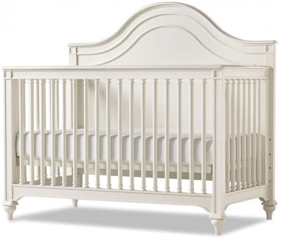 Genevieve French White Convertible Crib