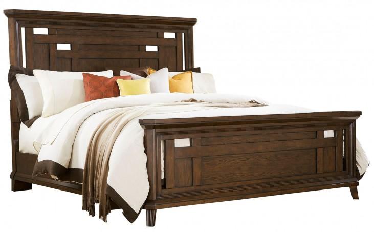 Estes Park King Panel Bed