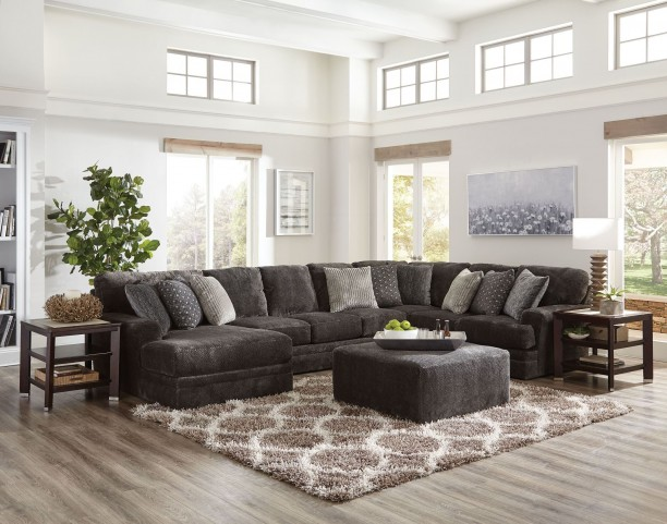 Mammoth Smoke Laf Chaise Sectional From Jackson Coleman