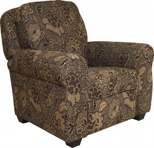 Downing All Spice Press Back Recliner