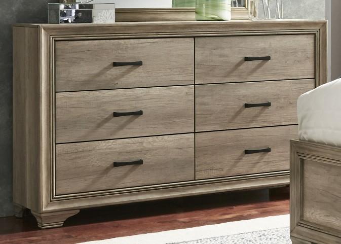 Sun Valley Sandstone 6 Drawer Dresser
