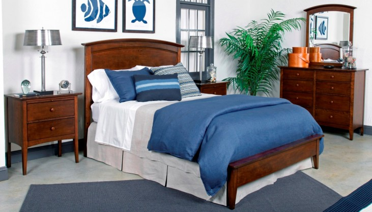 Gatherings Molasses Arch Bedroom Set
