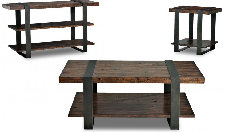 Timber Forge Occasional Table Set