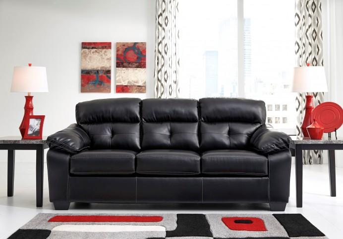 Bastrop Durablend Midnight Stationary Sofa