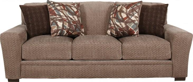 Prescott Otter and Cajun Sofa