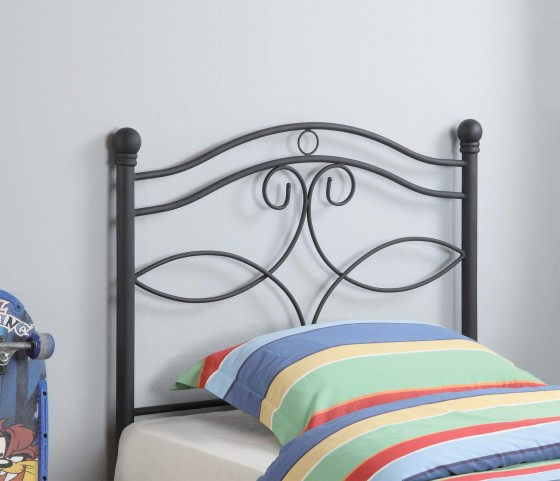 Black Twin Headboard 450102T