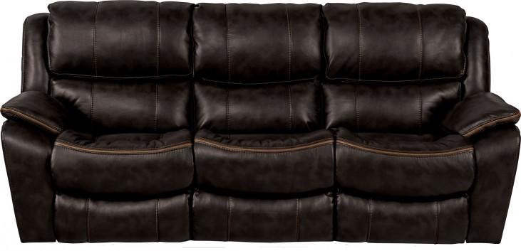 Beckett Black Reclining Sofa