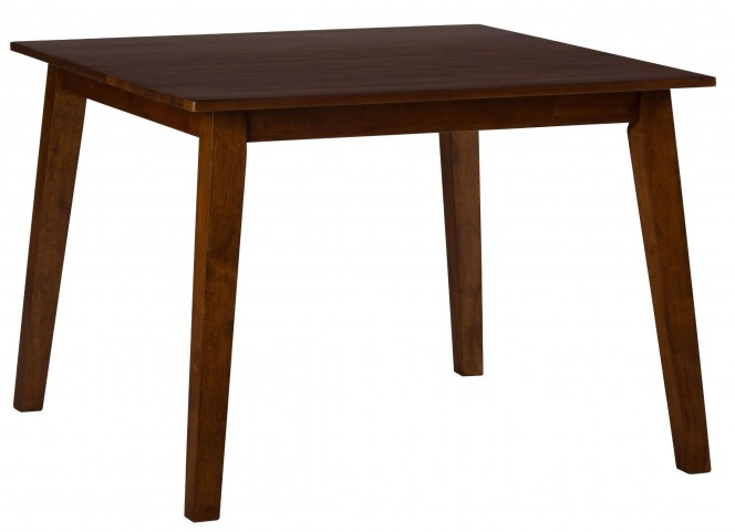 Simplicity Caramel Square Dining Table