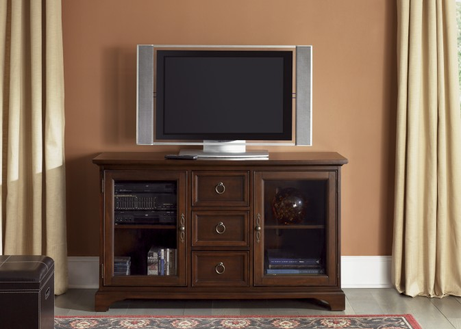 Beacon Cherry 54 Inch TV Console