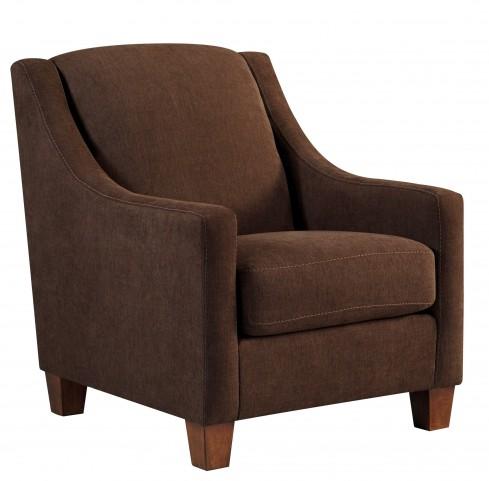 Maier Walnut Accent Chair