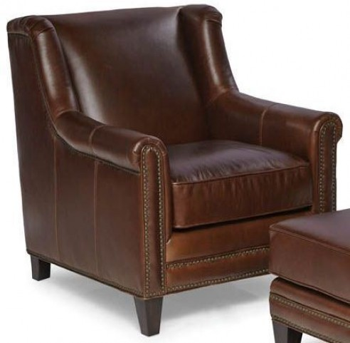 Pendleton Trends Walnut Leather Chair