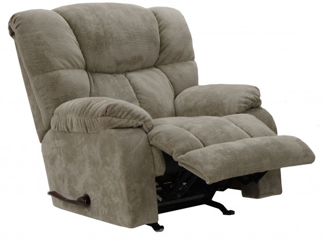Popson Taupe Rocker Recliner