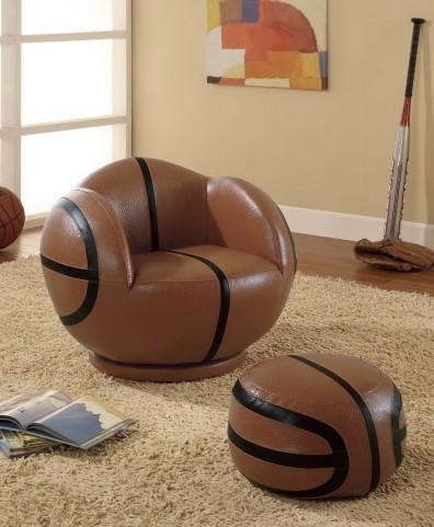 Brown Small Basketball Chair 460176