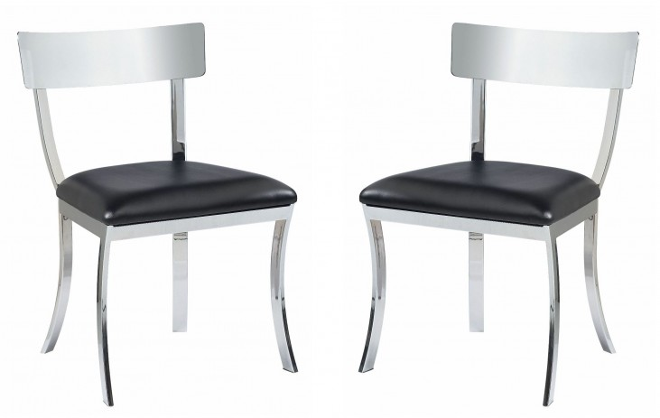 Maiden Black Dining Chair Set of 2